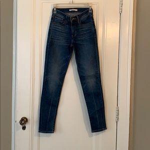721 Levi high rise jeans